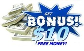 $10 Sign up bonus!