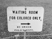 segregation sign