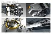 Imatge detallada de diferents parts del vehicle