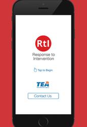 TEA Releases RtI Guidance App
