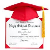 Diploma Signature Cards