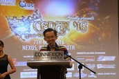 Welcoming Speech by CEDAN Advisor, Dr. Yeoh Hak Koon