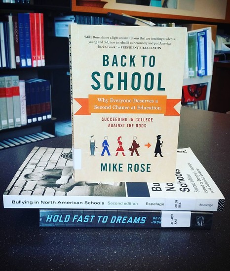 mike rose back to school