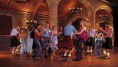 Club ceilidh night