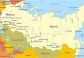 Russia on a Map