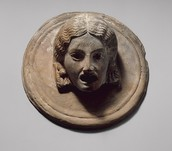 Female Greek Mask