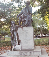 """Statue of Dickens in Philadelphia, Pennsylvania."""