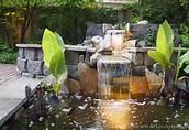 Water scene design