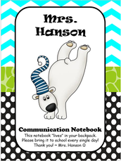 Communication Notebook - What's inside?
