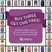 Wraps are always Buy 3 Get 1 Free