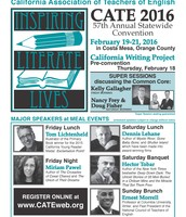 CATE 2016 Costa Mesa: Inspiring Literate Lives