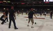 Dodgeball On Ice!