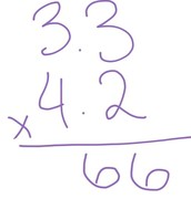 How to Multiply Decimals: Step 1