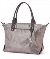 How Does She Do It- Pewter (with cross-body strap)