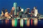 Dallas ,Texas (finish)