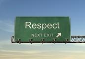 Respect = Communication + Considération + Coopération