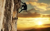 Climbing uphill