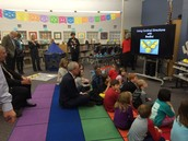 A Visit from State Superintendent, Dr. Tommy Bice