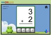 Monster Math Flash Cards