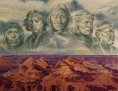 Left sacred ancestors