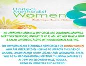 UMWomen Meetings
