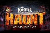 Knott's Scary Farm School Trip