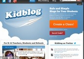 Kidblog.org is an excellent PDSB approved choice for a blogging website.