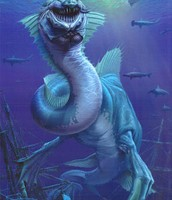 Monstruo marino.