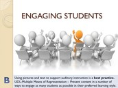 Students Speak Out on What Engages Them as Learners