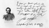 Sir Francis' Handwriting