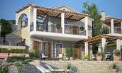 Greek inspired houses