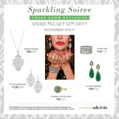 Only available at trunk shows!!