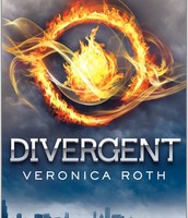 The book cover of Divergent