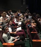 Students at Geva Theatre