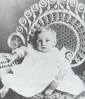 Walt Disney As a Baby