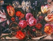Sunflowers, Snowball, Tulips,