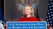 Women's rights speech