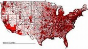 Where the people live in the US