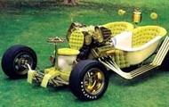 Vintage Toliet on Wheels