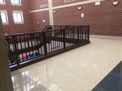Top Main Stairwell area