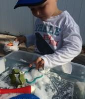 Landon and sensory foam