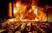 Volcano in the film