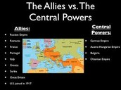 Allied and Central Powers