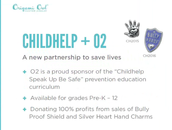 Child-Help our Official O2 Partner