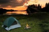 Cuando yo era joven me gustaba acampar