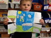 Water Cycle Projects in Mrs. Arpide's Second Grade