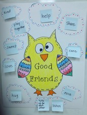 Owls will help us to learn about making friends!