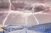 thunder  -  snow