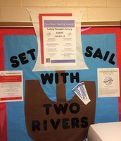 Example of bulletin board display