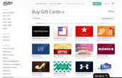Discounted Gift Cards!